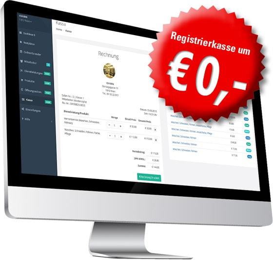 kostenlose Registrierkasse
