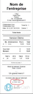 ticket infocert hellocash